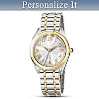 Always And Forever Personalized Women's Watch
