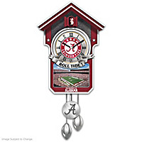 University Of Alabama Cuckoo Clock