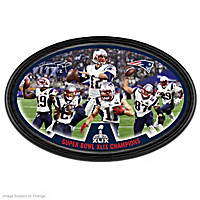 Patriots Super Bowl XLIX Champions Wall Decor
