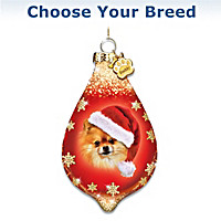 Santa Paws Personalized Ornament