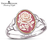 Thomas Kinkade American Rose Ring