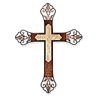 Radiant Light Of Faith Cross