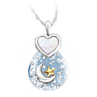 Precious Granddaughter Pendant Necklace