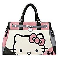 Hello Kitty Face Of Fashion Handbag