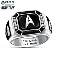 STAR TREK: Live Long And Prosper Ring