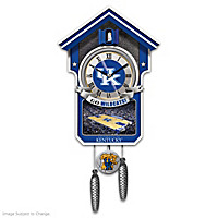 Kentucky Wildcats Cuckoo Clock