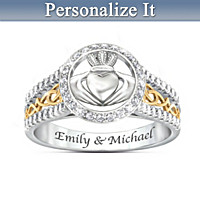 One Love To Cherish Personalized Ring