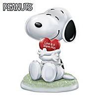Snoopy, I Love You Music Box