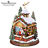 Thomas Kinkade Toy Shop Treasures Sculpture