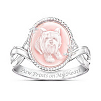 Picture Of Perfection Yorkie Ring