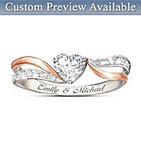 Serenity Of Love Personalized Ring