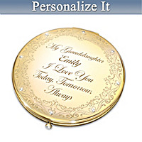 Granddaughter, I Love You Personalized Compact