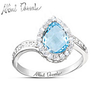 Alfred Durante Blue Grotto Ring