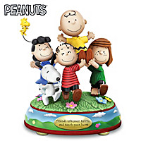 Peanuts Friendship Is Happiness Figurine