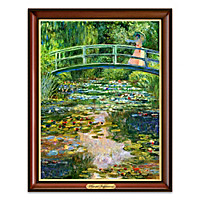 "Monet's ""Peaceful Impressions"" Wall Decor"