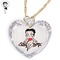 Sweetheart Betty Boop Pendant Necklace