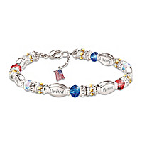 America The Beautiful Bracelet