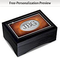 Son's Personalized Keepsake Box