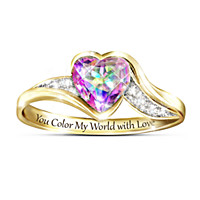 You Color My World Ring