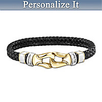 United By Love Personalized Men's Bracelet