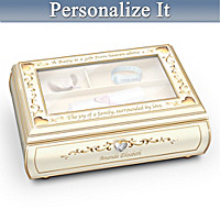 Baby's Treasured Memory Personalized Music Box