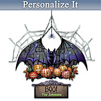 The Spirit Of Halloween Personalized Welcome Sign