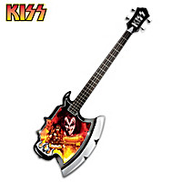 KISS Rock God's Axe Wall Decor