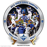 2015 World Series Kansas City Royals Collector Plate