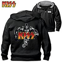 KISS, Rocks Men's Hoodie