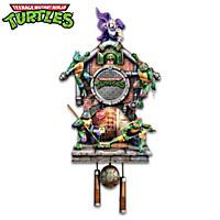 Teenage Mutant Ninja Turtles Cuckoo Clock
