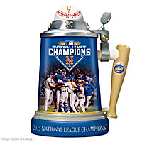 New York Mets 2015 National League Champions Stein