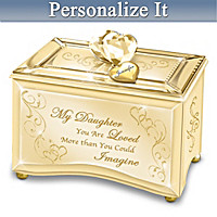 Daughter, You Are Loved Personalized Music Box