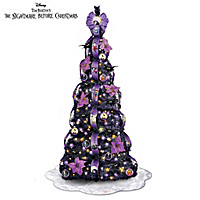 Disney Nightmare Before Christmas Pre-Lit Pull-Up Tree