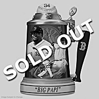 David Ortiz: Red Sox Career Celebration Stein