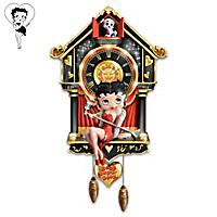 Betty Boop Cuckoo Clock