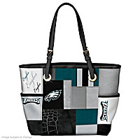 For The Love Of The Game Philadelphia Eagles Tote Bag