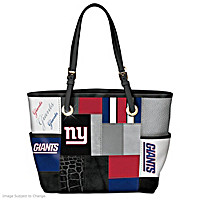 For The Love Of The Game New York Giants Tote Bag