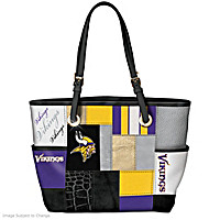 For The Love Of The Game Minnesota Vikings Tote Bag