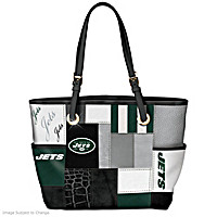 For The Love Of The Game New York Jets Tote Bag