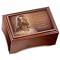The Lord's Prayer Holy Land Cross Keepsake