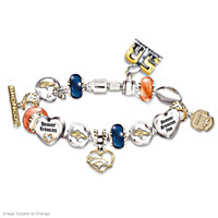 #1 Fan Denver Broncos Super Bowl Charm Bracelet