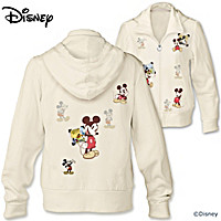 Disney Retro Mickey Mouse Women's Hoodie