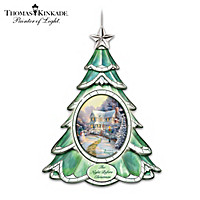 Thomas Kinkade's Holiday Joy Ornament Collection: Set One