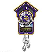Minnesota Vikings Cuckoo Clock