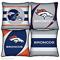 Denver Broncos Pillow Collection