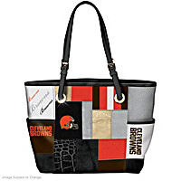 For The Love Of The Game Cleveland Browns Tote Bag