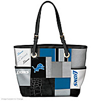 For The Love Of The Game Detroit Lions Tote Bag