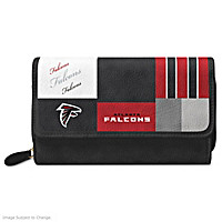 For The Love Of The Game Atlanta Falcons Wallet