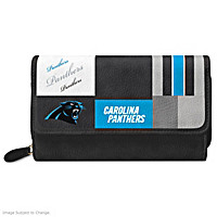 For The Love Of The Game Carolina Panthers Wallet
