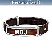 Proud To Call You Son Personalized Men's Bracelet